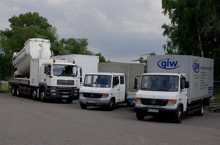 GIW - Fuhrpark