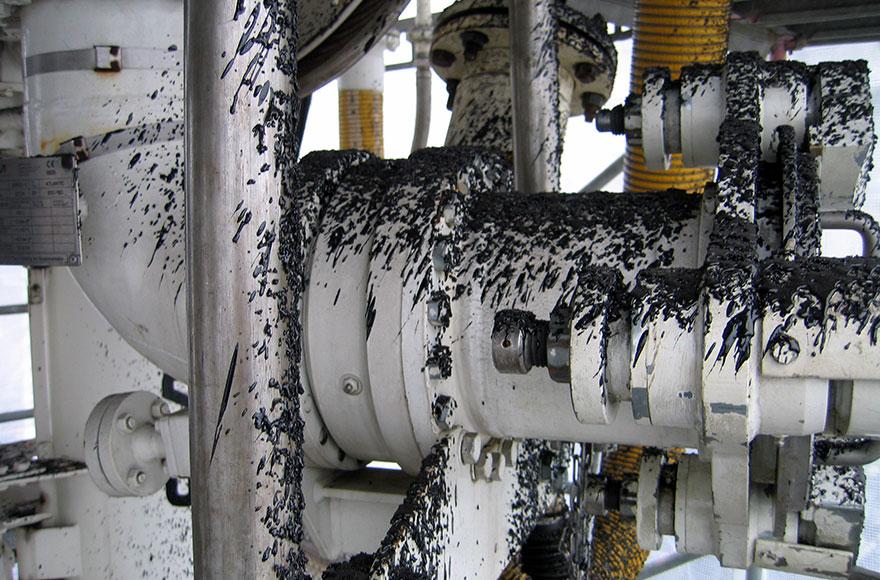 GIW - Trockeneisreinigung - Ölhavarie